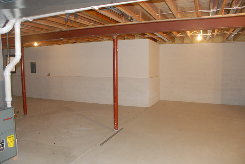 An Empty Basement to Start With