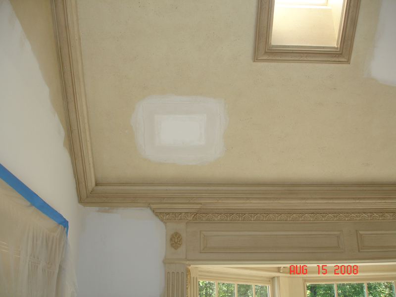 In-ceiling Before